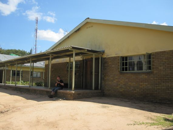 Clinic in rural South Africa